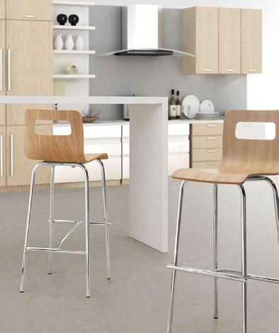 Escape Bar Stools From Zuo Modern