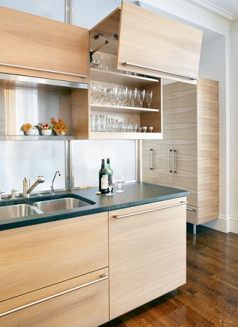 Lift Up Kitchen Cabinets (by LDa Architecture And Interiors)
