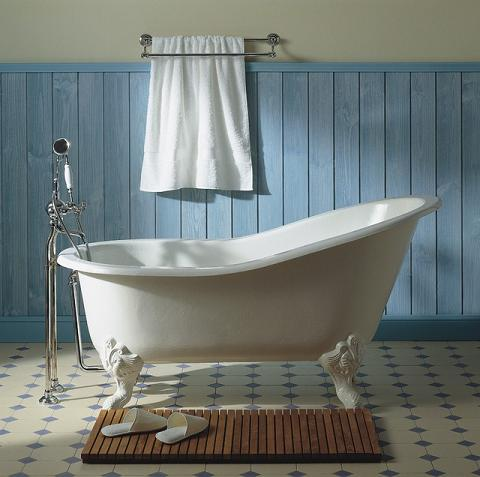 Marie Louise Cast Iron Clawfoot Tub From Herbeau
