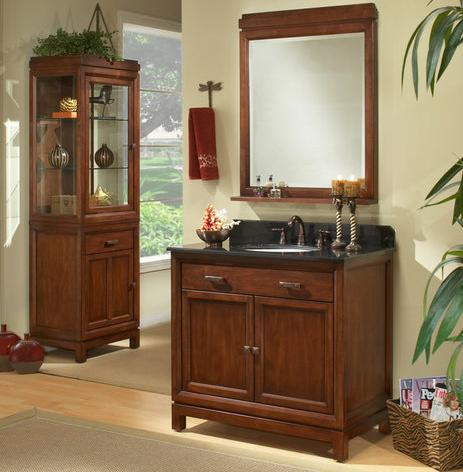 Modena Bathroom Vanity With Vanity Top And Mirror From Sagehill Designs