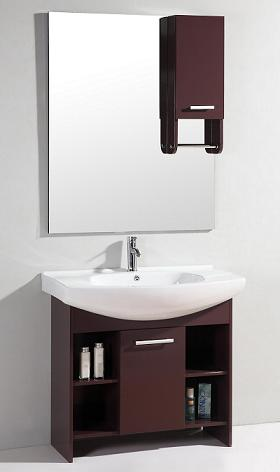 Modern Bathroom Vanity With Storage Mirror From Legion Furniture