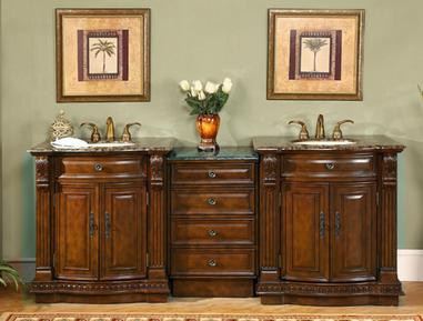 Modular Antique Bathroom Vanity Set From Silkroad Exclusive