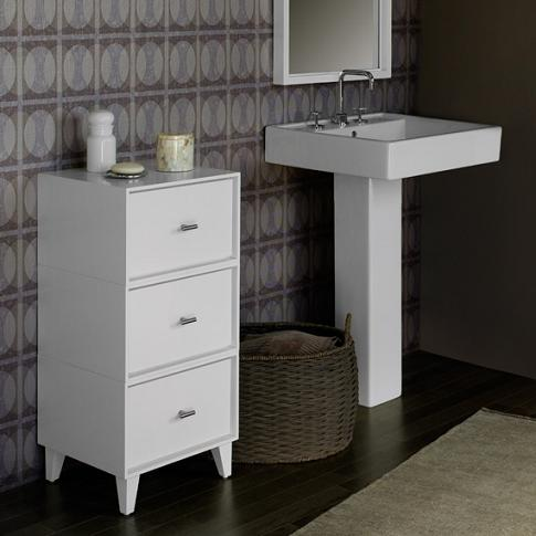 Pedestal Sinks Offer A Space Saving Alternative For Smaller Bathrooms