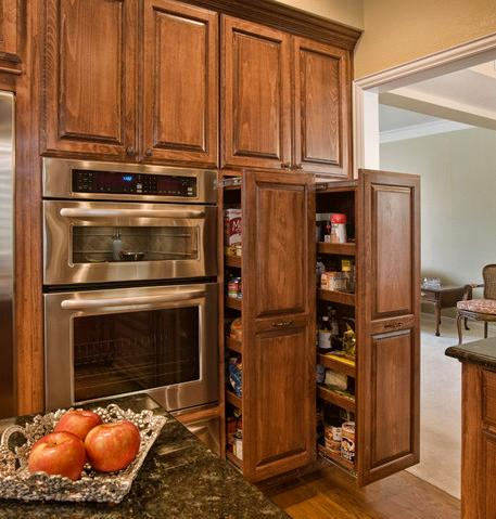 Pull Out Style Pantries (by Curb Appeal Renovations)