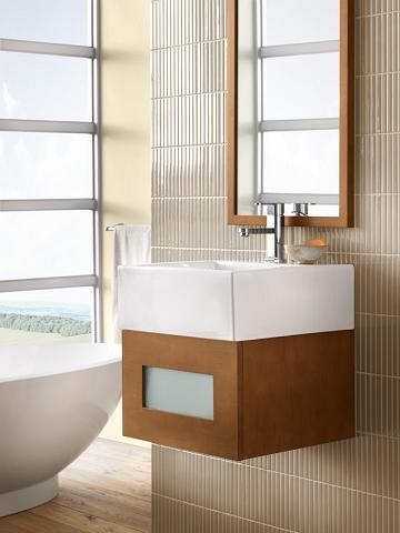 Rebecca 18 Inch Wall Mounted Bathroom Vanity From RonBow