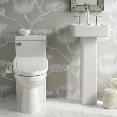 Solutions Small Square Pedestal Sink From Porcher
