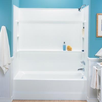 Veritek Bath Alcove Tub Wall Kit From Swanstone