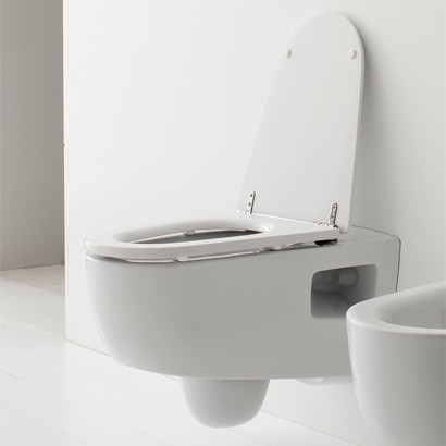 Wall Hung Toilets Are Complicate To Install, But Save Floor Space And Look Fantastic