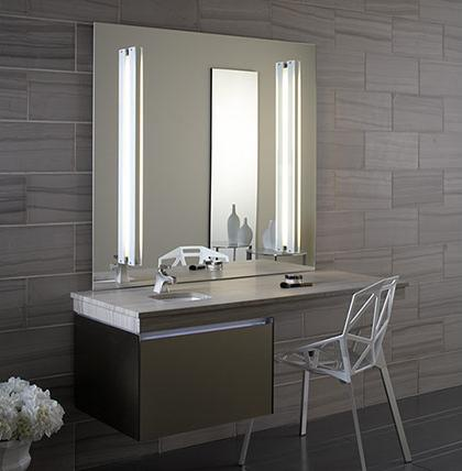 Deep Vanity With Extended Counter Top From Robern