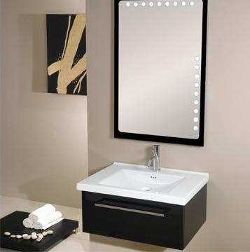 Fly Backlit Mirror With Matching Vanity From Iotti