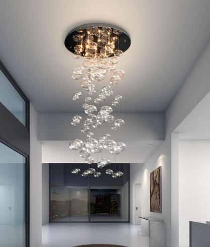 Inertia Glass Chandelier From Zuo Modern
