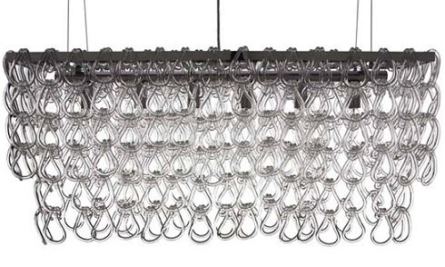 Jayden Glass Chandelier From Nuevo Living