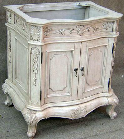 Lido 30 Inch Aged White Bathroom Vanity From Empire Industries