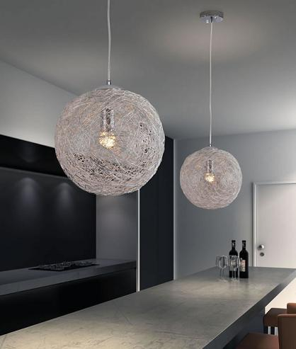 Once White Lighting Fixture From Zuo Modern