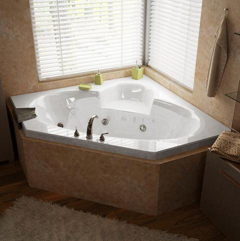 Sublime Whirlpool Jetted Hydrotherapy Tub From Atlantis