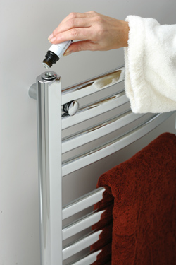 W228 Wall Mount Electric Towel Warmer With Aromatherapy From Mr. Steam