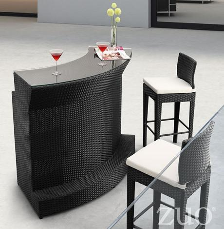 An Outdoor Bar Is A Great Way To Show Off Your Bartending Skills While Keeping Your Outdoor Space Neat And Organized