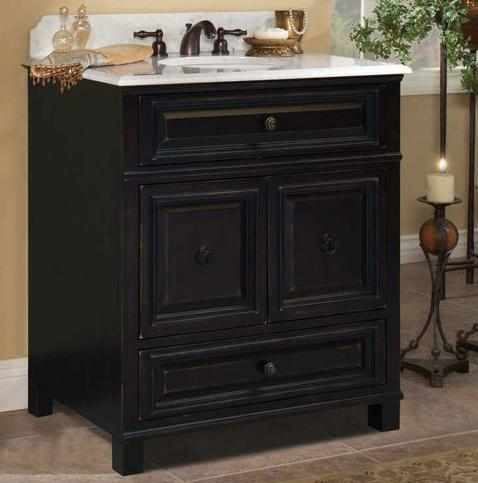 Barton Hill 30 Inch Bathroom Vanity From SunnyWood
