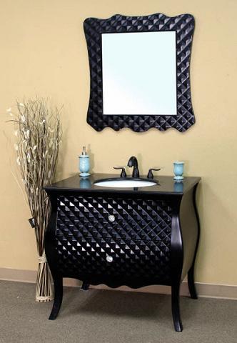 Black Modern Bathroom Vanity From Bellaterra Home