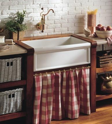 Cuisine Fireclay Farmhouse Sink From Herbeau