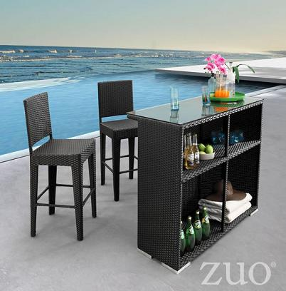 Even The Simplest Bar Setup Can Add Polish And Sophistication To Your Outdoor Entertaining
