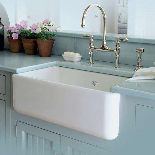 Shaws Original Fireclay Single Basin Sink From Rohl