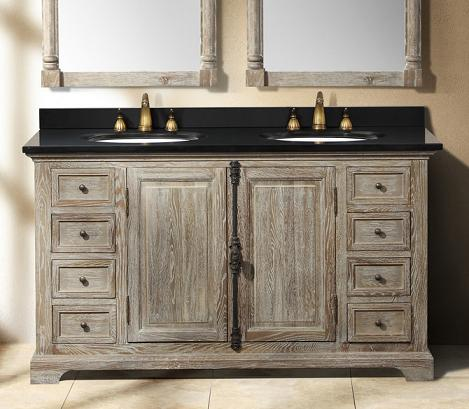 providence 60 gray double bathroom vanity from james martin - Gray Bathroom Vanity