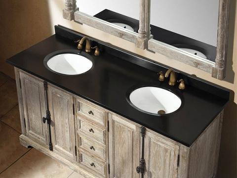 "Providence 72"" Grey Double Bathroom Vanity From James Martin"
