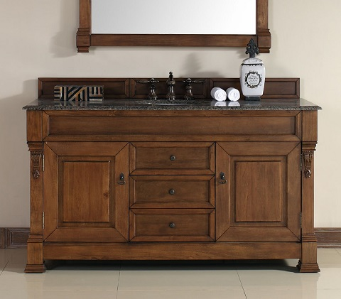 "Brookfield 60"" Single Bathroom Vanity 147-114-5371 from James Martin Furniture"