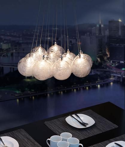 Cosmos Cluster Pendant From Zuo Modern