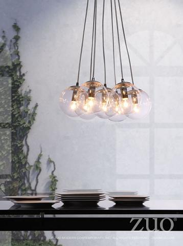 Decadence Cluster Pendant Light From Zuo Modern