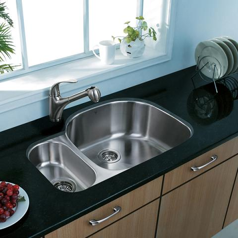 Double Bowl Stainless Steel Sink From Vigo Industries