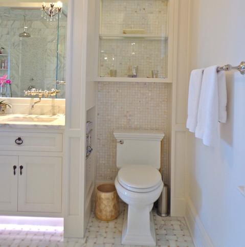 In A Large Enough Bathroom, The Layout Itself Can Be Used To Create Privacy