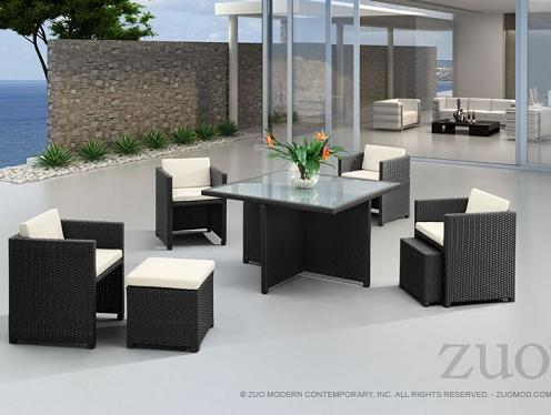 Zuo Modern Patio Furniture.Nesting Outdoor Furniture The Best Way To Save Space On Your Deck