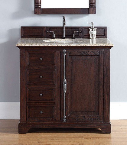 """Providence 36"""" Single Vanity In Sable 238-105-5531 from James Martin Furniture"""
