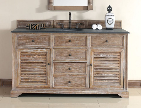 "Savannah 60"" Single Bathroom Vanity In Driftwood 238-104-5311 from James Martin"