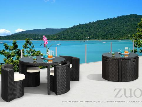 Tarfia Table Set From Zuo Modern