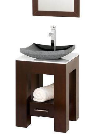 Amanda Bathroom Vanity Set With Vessel Sink From Wyndham Collection