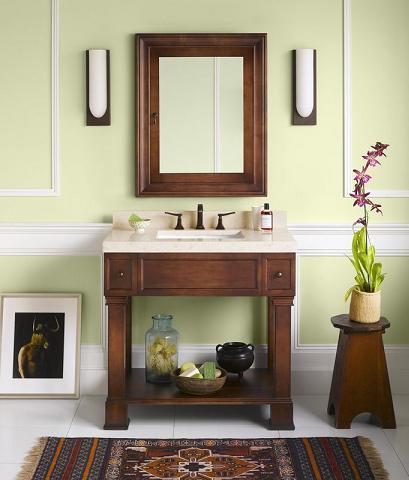 Palermo 36 Wood Bathroom Vanity
