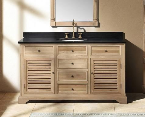 "Savannah 60"" Natural Oak Bathroom Vanity From James Martin Furniture"