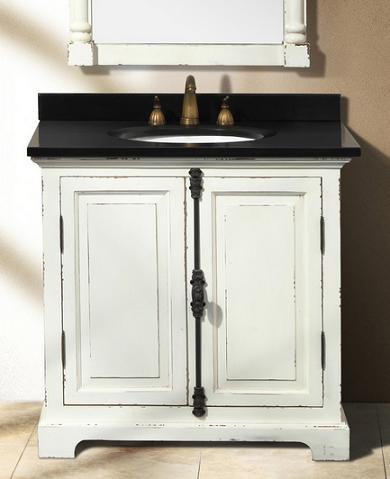 Genna Antique White Single Bathroom Vanity From James Martin Furniture