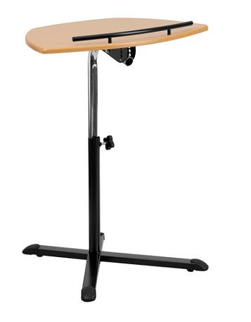 Height Adjustable Cherry Laptop Computer Desk From Flash Furniture