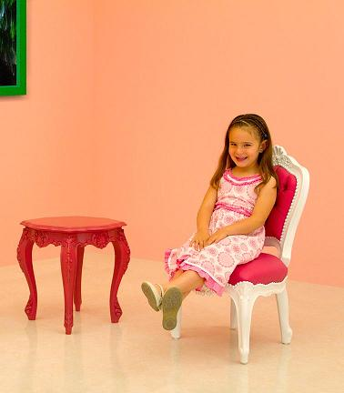 Mini Side Table And Chair From PolArt