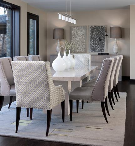 An All Gray Dining Room Is Neither Frigidly Modern Nor As Warm As A True  Neutral