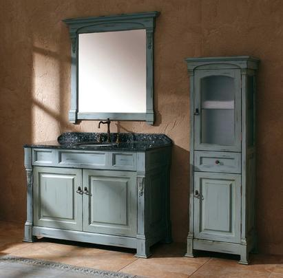 Bosco 48 Inch Vanity In Ancient Blue From James Martin