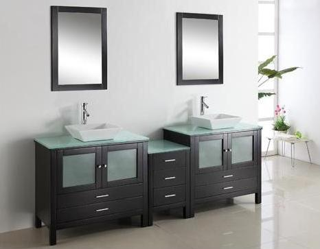 Brentford 90 Inch Modular Bathroom Vanity From Virtu USA