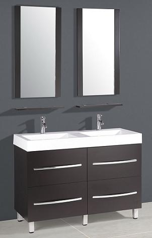 Compact Double Bathroom Vanity From Legion Furniture