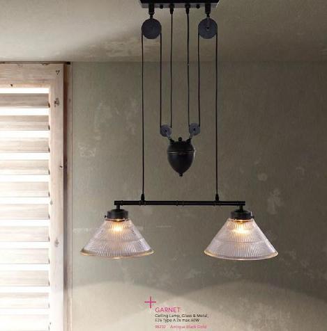 Garnet Industrial Pendant Light From Zuo Modern