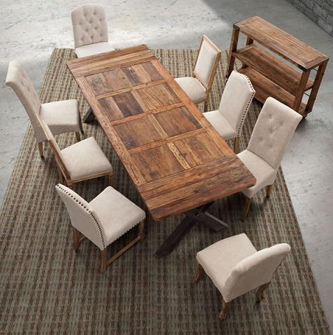 Haight Ashbury Table And Richmond Chairs From Zuo Modern