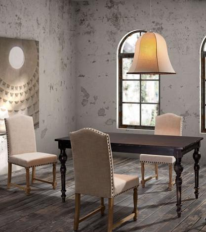 Richmond Dining Chairs With Soma Dining Table From Zuo Modern